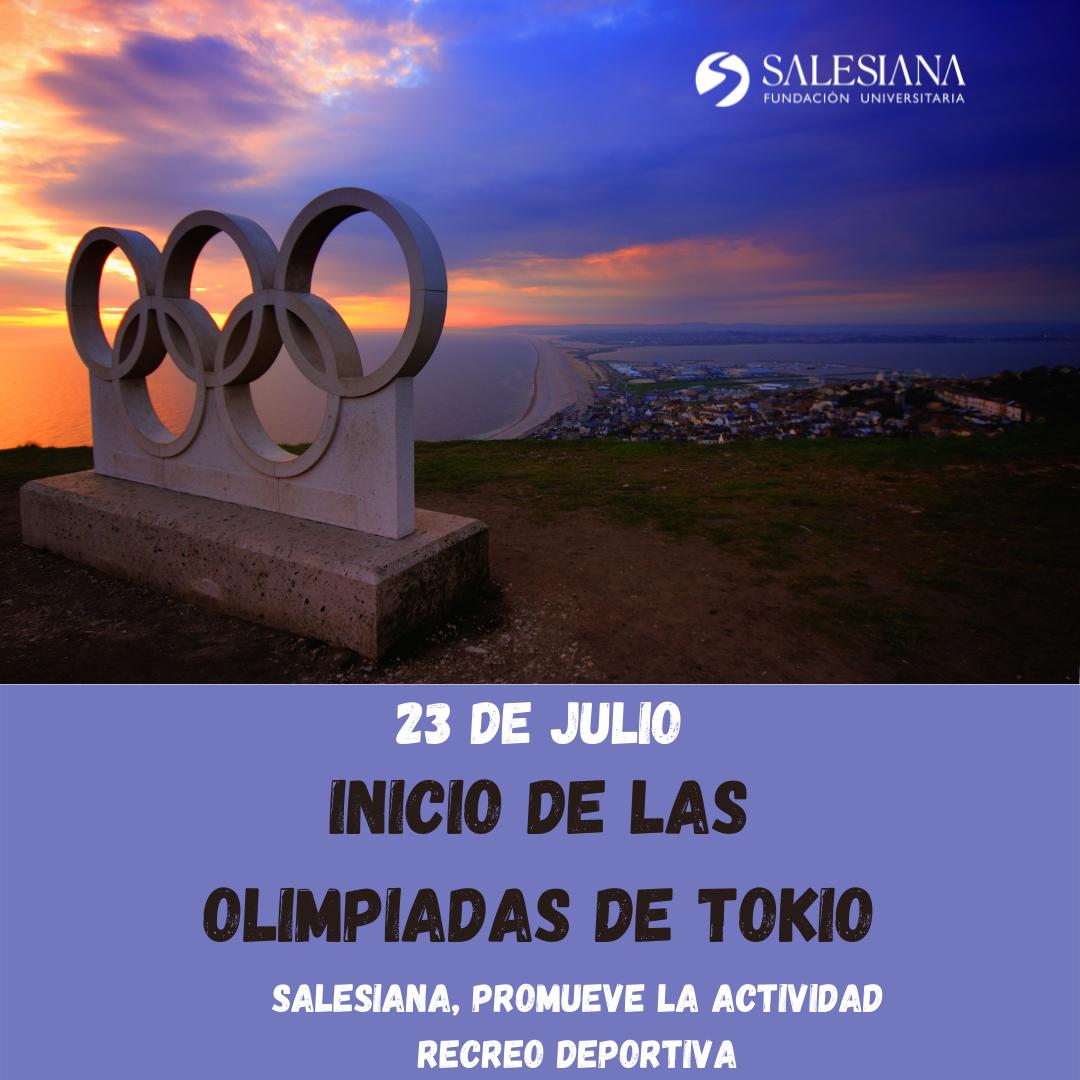 Inicio de las Olimpiadas de Tokio 8