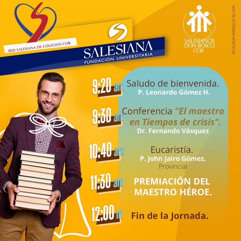 """Premiación del concurso """"Héroes salesianos. Educadores 2021"""" 9"""