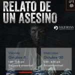 Rincón de lectura salesiano | Relato de un Asesino. Autor: Mario Mendoza 2