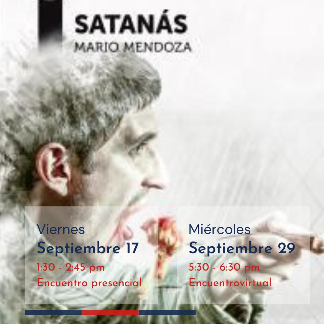 Rincón de lectura salesiano | Satanás. Autor: Mario Mendoza 8