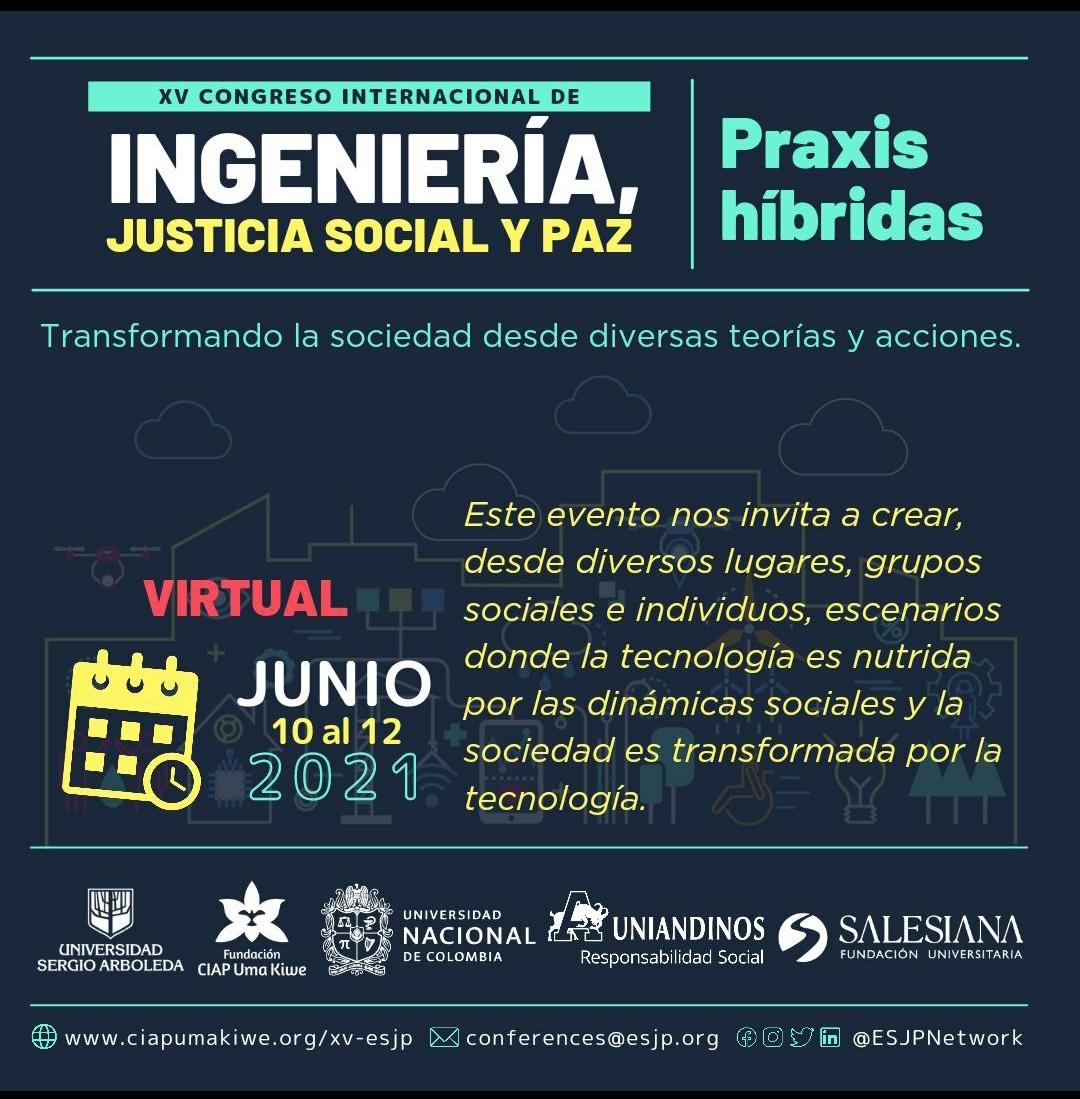 XV Congreso internacional de ingeniería, justicia social y paz 8