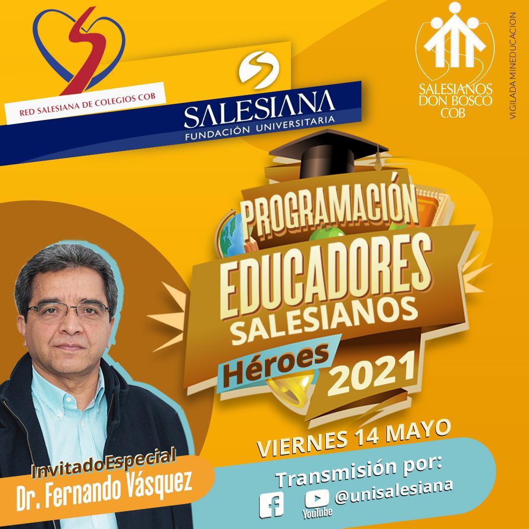 """Premiación del concurso """"Héroes salesianos. Educadores 2021"""" 8"""