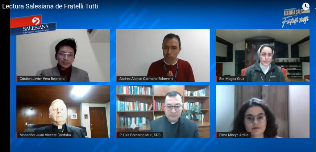 Participación de Salesiana en el conversatorio sobre el mensaje de Don Bosco