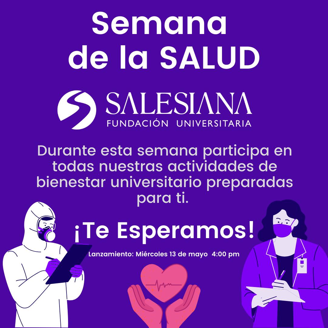 ¡Semana de la salud SALESIANA!