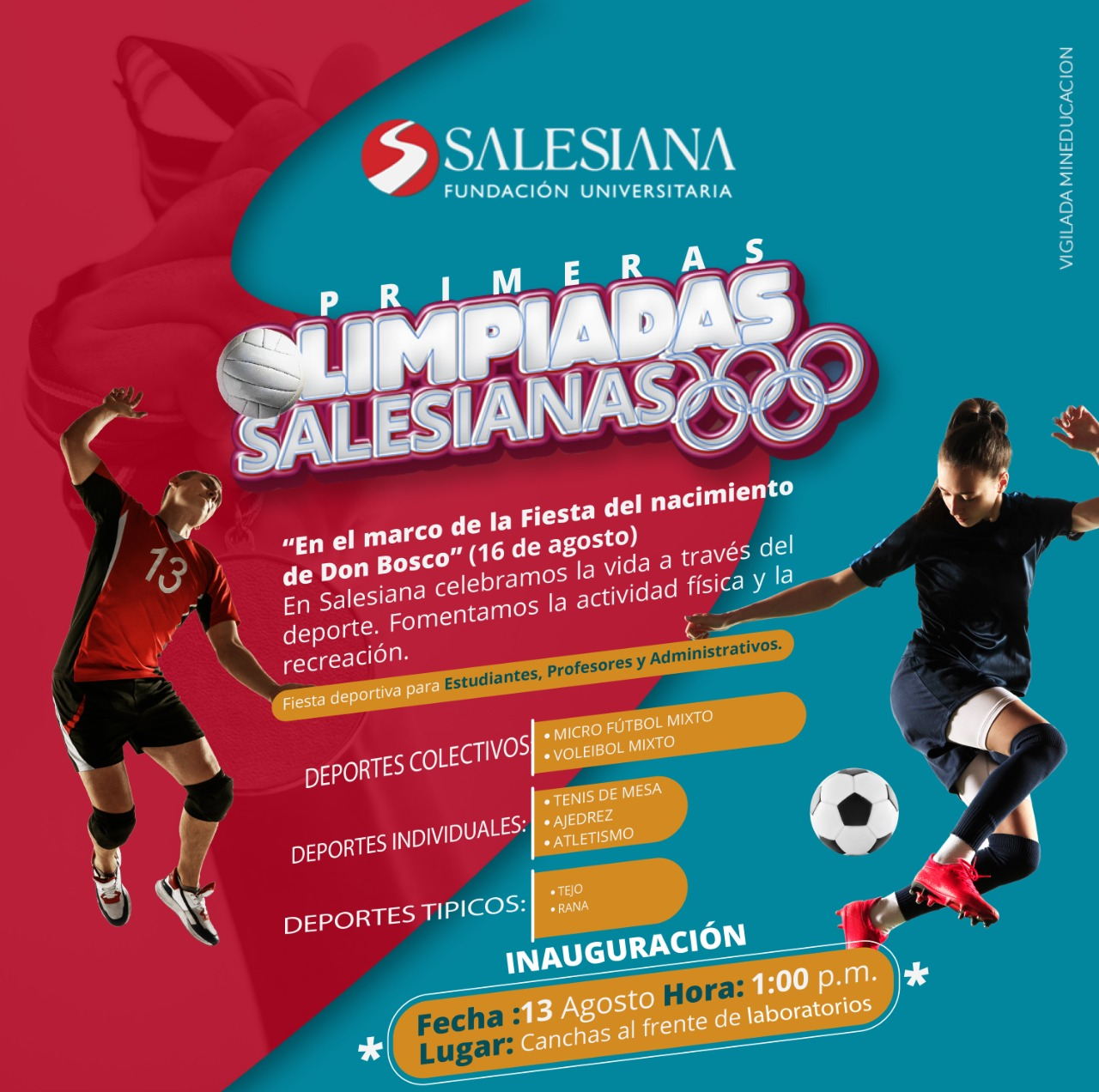 Olimpiadas Salesianas 8