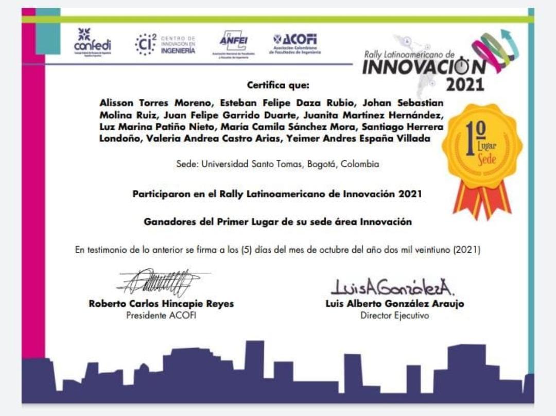 SALESIANA en el Rally Latinoamericano de Innovación 2021