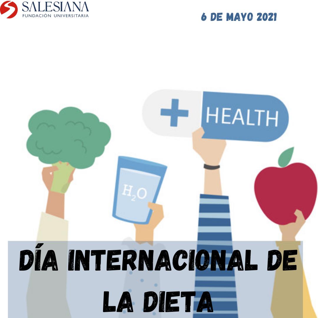 Día internacional sin dietas (OMS) 8