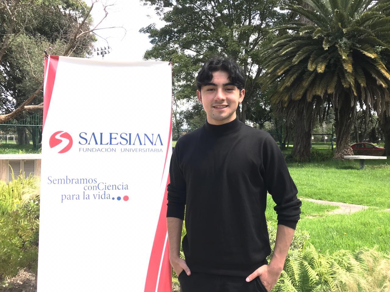 Brayan confía su futuro y su formación a SALESIANA 6