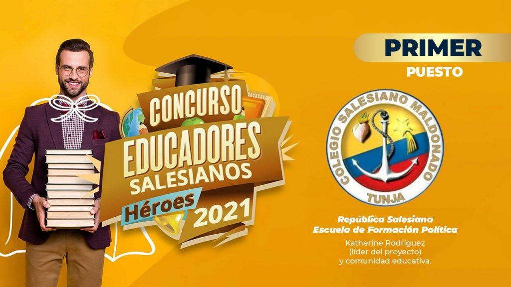 """Premiación concurso """"Educadores salesianos, héroes 2021"""" 6"""
