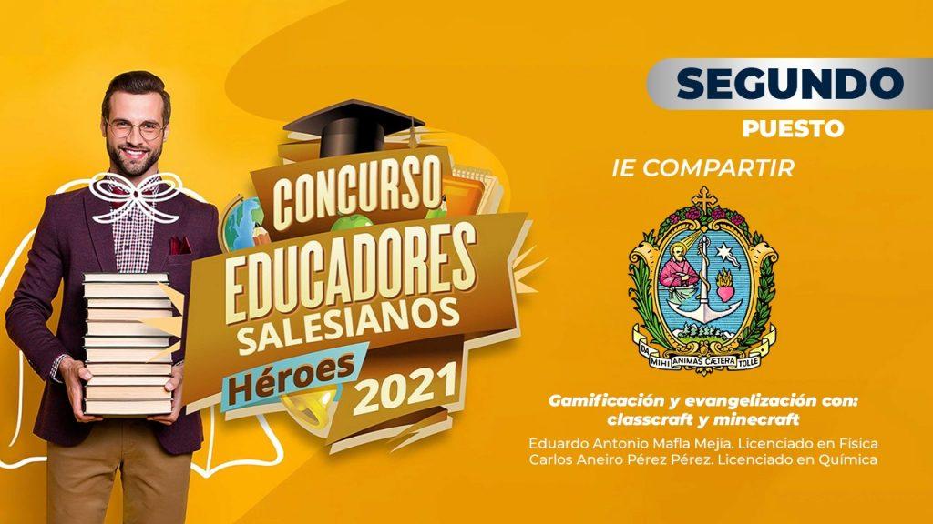 """Premiación concurso """"Educadores salesianos, héroes 2021"""" 5"""
