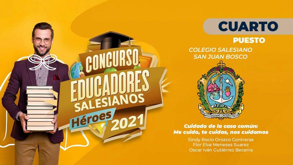 """Premiación concurso """"Educadores salesianos, héroes 2021"""" 3"""