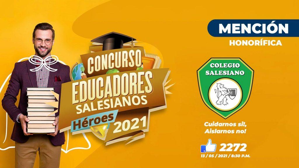 """Premiación concurso """"Educadores salesianos, héroes 2021"""" 7"""