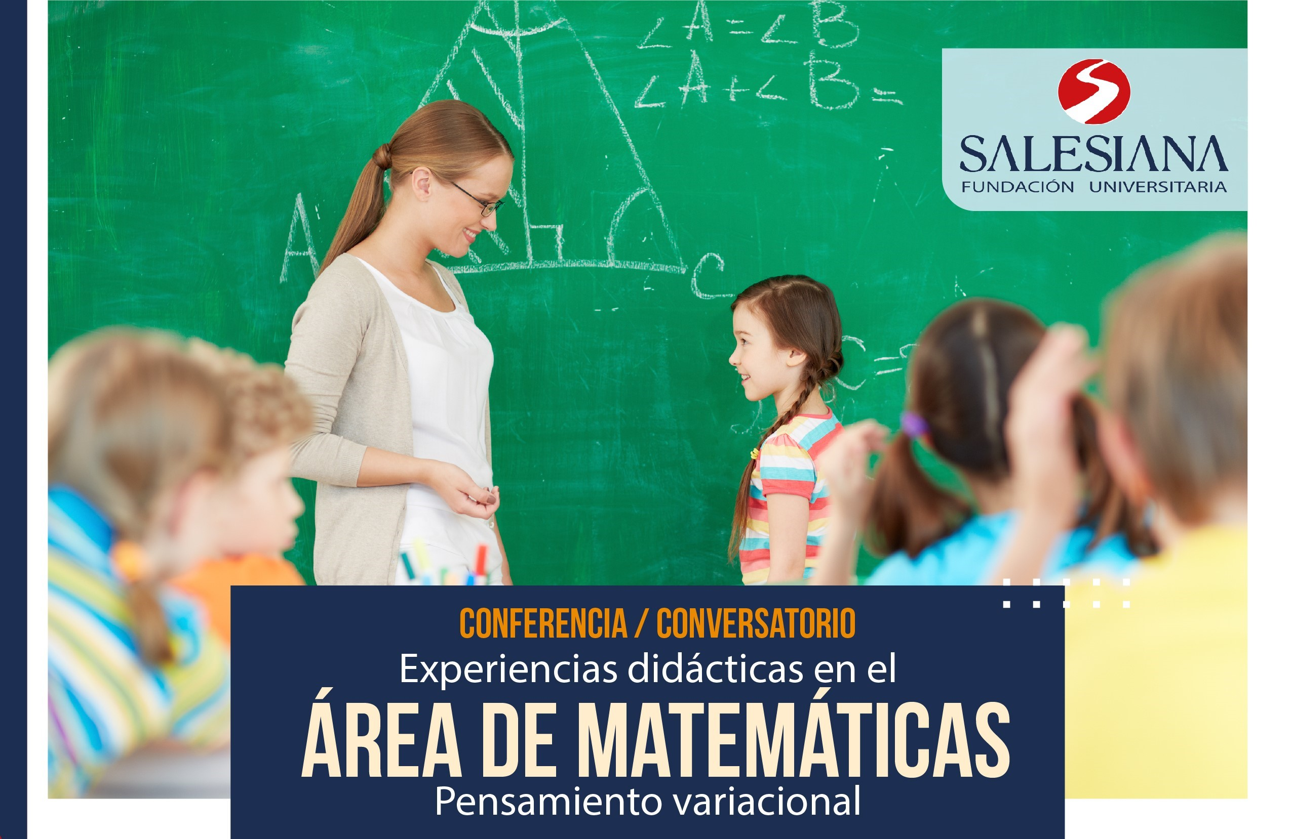 Conferencia: Experiencias didácticas en el ÁREA de MATEMÁTICAS. Pensamiento variacional. 8