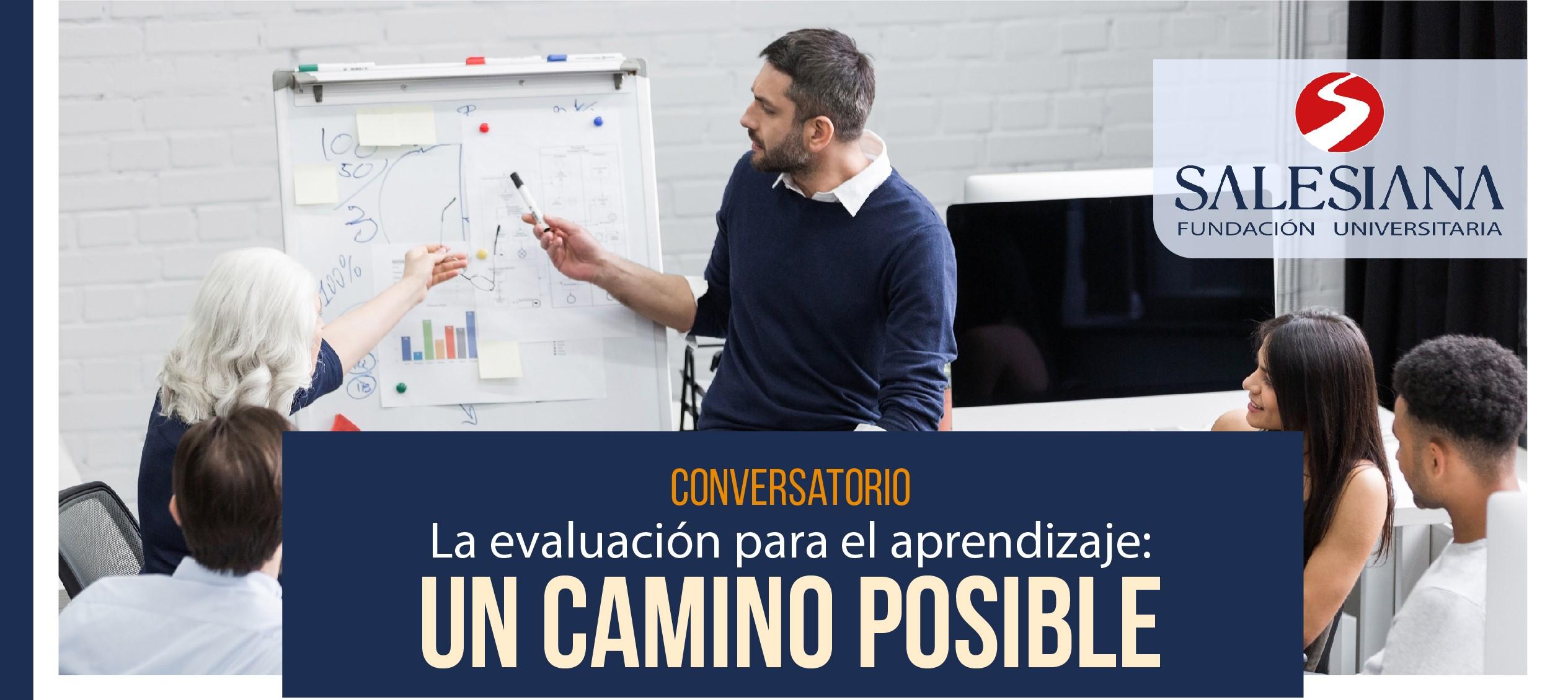Conversatorio: La evaluación para el aprendizaje. Un camino posible. 8